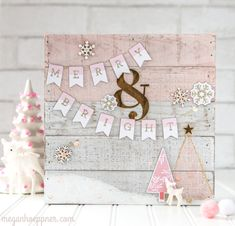 Merry & Bright Home Decor project by Megan Hoeppner for SCT Magazine