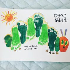 March Crafts - Handprint Rainbow Art for St. Patricks Day- Art day Handprint Patricks Rain … Handprint Rainbow A - Daycare Crafts, Baby Crafts, Preschool Crafts, Baby Footprint Art, Footprint Crafts, Projects For Kids, Diy For Kids, Crafts For Kids, Toddler Art