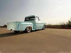 1957 Chevy Truck Rear End View