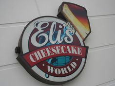 Eli's Cheesecake World--Chicago- seriously the best cheesecake. ever.