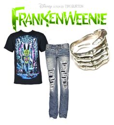 """""""Frankenweenie"""" by dahlbrid ❤ liked on Polyvore featuring 1921"""