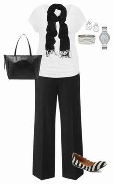 Деловой стиль для женщин с шикарными формами.
