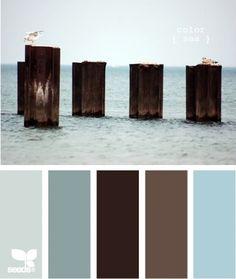 Bedroom colour palette.
