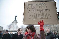 Bettie Bangs: Je Suis Charlie / Yo Soy Charlie/ I'm Charlie Satire, Paris France, Paris Shooting, Read In French, Journal Quotidien, Graffiti, Paris Attack, Charlie Hebdo, National Review