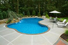 Swiming Pools Vinyl Pool Liners That Look Like Gunite With