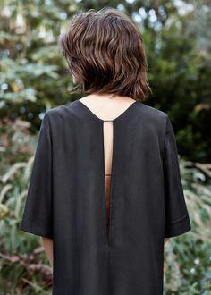 PREMIUM - Vestido pormenor abertura