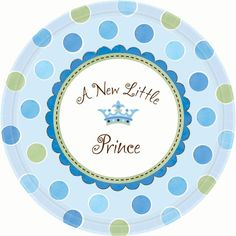 A New Little Prince Paper Dinner Plates 8ct