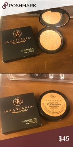 ABH Illuminator in So Hollywood Only used a couple times. Sold out not sold anywhere Anastasia Beverly Hills Makeup Luminizer