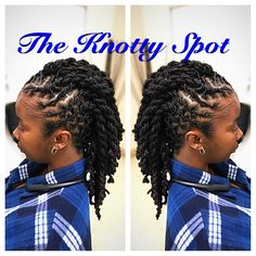Loc Style Styled By: Maquita James Call (803)-237-1894 or Book Online at: www.styleseat.com/the knotty spot #doublestrandtwist #locs #locstyle #dreadlocks #dreadstyles #ropetwist #loctwiststyle #theknottyspot #locstyles #twistout #loctwistout #twistmohawk #mohawk #fauxhawk Dreadlock Mohawk, Mens Dreadlock Styles, Dreadlocks Men, Mohawk Styles, Locs, Dreadlock Hairstyles, Cute Hairstyles, Dreads Styles For Women, Beautiful Dreadlocks