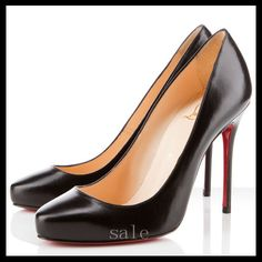 2dd6eaeb8ff86 Deep Discount Christian Louboutin Elisa Pumps Black With Advanced Speaker  Design Hot Sale! Louis Vuitton Sale For Cheap