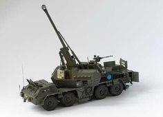 152 mm ShKH MODAN vz.77/99 Wheeled Self-Propelled Artillery Free Paper Model…