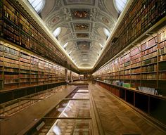 Coco 的美術館: 世界各地令人驚嘆的圖書館--Annex to the Senate Library in Paris, France法國參議院巴黎圖書館