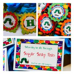 Hungry Caterpillar Party Printables Package  by LuLuPaperPrints, $19.00