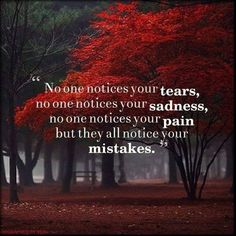 But GOD almighty doesn't see your mistakes he wants you to come as you are. He wants to give you joy, love, peace, kindness.....The fruit of the spirit!! :)