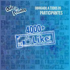 Obrigado aos Fãs no Facebook #ondadepremios #postoestreladalva #ruadosbiquinis #facebook #like #thanks