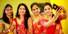 awesome Diya Menon Brother in law's Engagement Function - Saravanan & Deepa
