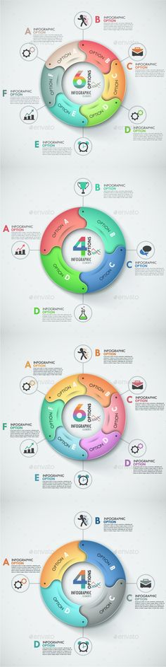 Buy Modern Infographic Options Banner Items) by Andrew_Kras on GraphicRiver. Modern infographics options banner with process template made of 4 creative colorful ribbons in two color versions. Dashboard Design, Brochure Design, Chart Design, App Design, Infographic Template Powerpoint, Strategy Map, Paper Presentation, Charts And Graphs, Lettering Design