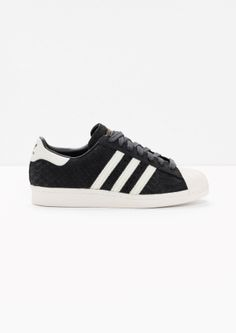 & Other Stories image 1 of adidas Superstar 80s  in Grey