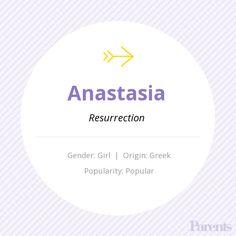 Baby Name: Anastasia