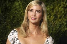 Daughter of the infamous Donald Trump, former model Ivanka has become a powerful business woman in her own right. And she does it all in blond. | #blonde #hair