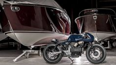VTR Customs - Fascination for Mobility Custom Motorcycle Builders, Custom Motorcycles, Bmw K100, Custom Bmw, Style Retro, Power Boats, Wooden Boats, Source Of Inspiration, Automobile