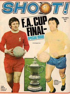 Up And Down by TheWildBunch22: English Leagues the 70s: Arsenal Liverpool FA Cup 1970 1971