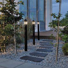 Konstsmide Amalfi Outdoor Post Light Kit - Set of 3