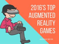 Anthony Beyer shares this year's top augmented and virtual reality games after Pokemon Go's striking success as the biggest ever mobile game. Augmented Reality Games, Virtual Reality Games, Pokemon Go, Memes, Tops, Shell Tops, Meme