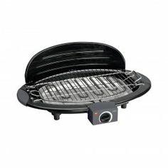 Barbecue grill elettrico da tavolo Aeg BQ 5514 2000W - Barbecue da tavolo con grill in design, termostato regolabile con luce di controllo, griglia smaltata e regolabile in altezza.