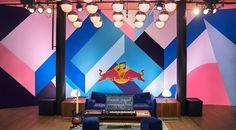 RedBull Music Academy Mural on Behance