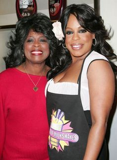 Well at least we know where Niecy Nash gets her spiciness from. Clearly mom, Margaret Ensley keeps it fab at any age. Beautiful Family, Black Is Beautiful, Beautiful People, Beautiful Women, Mom Daughter, Mom And Dad, Daughters, Black Celebrities, Celebs