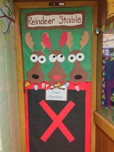 Cute classroom door idea!