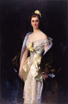 John Singer Sargent - Caroline de Bassano, Marquise d'Espeuilles, 1884