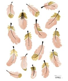 Stickers plumes roses Flamingo by Lucie Bellion x 24 cm) - Lilipinso Nursery Wall Art, Girl Nursery, Girls Bedroom, Feather Pillows, Illustration, Canvas Poster, Pink Flamingos, Wall Stickers, Wall Decals