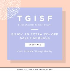 Enjoy 15% Off Sale Handbags This Weekend Only At LoefflerRandall.com