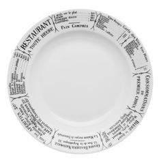 """Pillivuyt Brasserie Plate, 7.75"""" by Pillivuyt USA Incorporated. $24.90. Pillivuyt products have been made in France using hands-on artisans since 1818. Impenetrable glaze that will not craze, is hygienic and easy to clean, dishwasher-safe and resistant to scratching and chipping. Classic French café design; complements any kitchen or tabletop décor. Pillivuyt porcelain is safe to use in the microwave and oven, even under the broiler; excellent heat retention ..."""