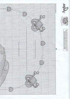 Gráficos para Nascimentos de Bébés - Ratinho - Esquemas de Ponto de Cruz