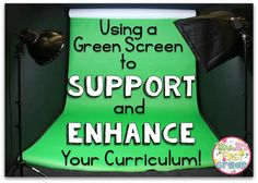 Mrs Barnett First Grade - Green Screen in School