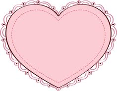 20 Free Clip Art Designs for Valentine's Day: Clip Art of a Pink Heart