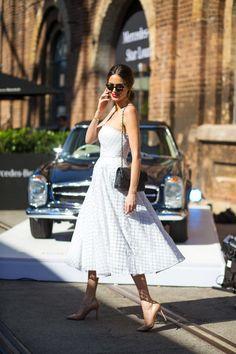 pretty dress, pretty lady. Sydney.