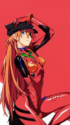 Girls Anime, Anime Couples Manga, Chica Anime Manga, Cute Anime Couples, Manga Girl, Anime Art Girl, Neon Genesis Evangelion, Evangelion Wallpaper, Female Characters