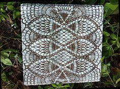 Hometalk   How to Make Lace-like Stepping Stones
