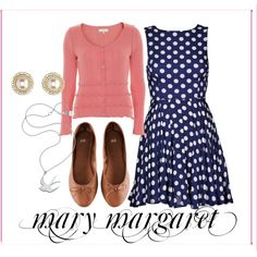 """mary margaret 10"" by wishingadream on Polyvore"