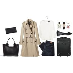 """Late night flight"" by unejeunedemoiselle on Polyvore"
