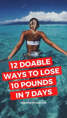 12 best weight loss tips to lose weight quickly - lose up to as much as 10 pounds by end of next week. Lose Weight In A Week, Need To Lose Weight, Losing Weight Tips, Reduce Weight, Weight Loss Tips, Weight Loss For Women, Best Weight Loss, Healthy Weight Loss, Weight Loss Journey