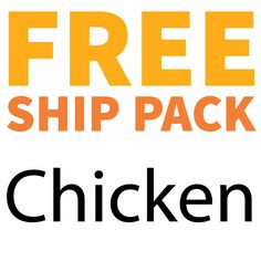 Complete Chicken Free Ship Pack, 10 lbs