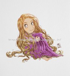 Rapunzel by marianovella