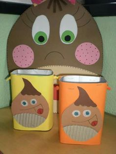 Crafts For Kids, Arts And Crafts, Craft Kids, Halloween, Ideas Para, Techno, Coin Purse, Lunch Box, Education