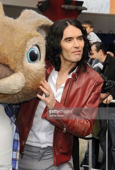 Russell Brand arrives at the Los Angeles premiere of 'Hop' at Universal Studios Hollywood on March 27, 2011 in Universal City, California.