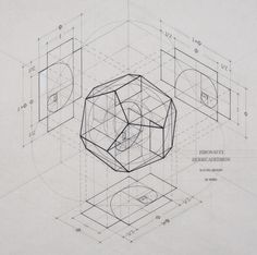 Image 12 of 20 from gallery of This Architect Fuses Art and Science by Hand Illustrating the Golden Ratio. Courtesy of Rafael Araujo